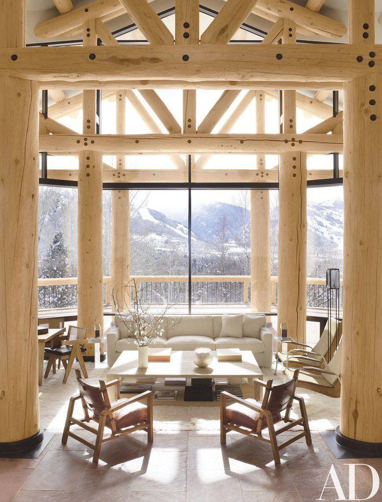 Un lodge luxueux dans les Rocheuses du Colorado