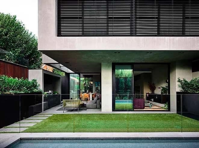 Architecture brute pour une maison familiale