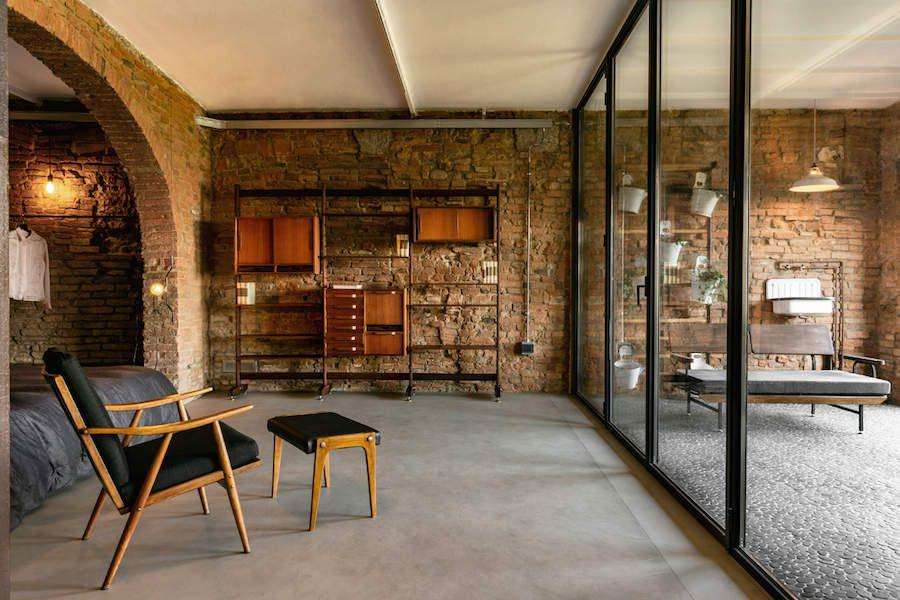 Un appartement avec piscine en sous-sol