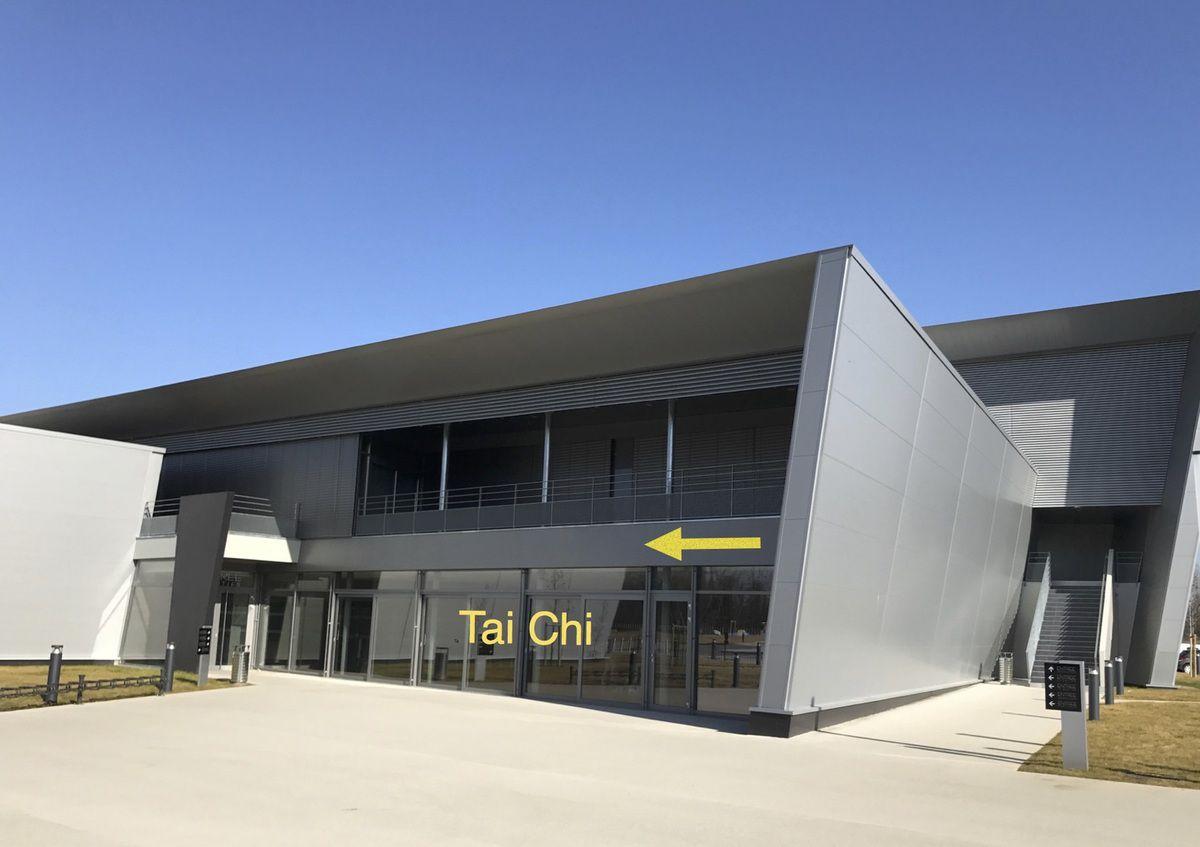 Tai Chi entrance at La Comète Hesingue