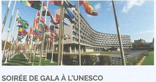 Invitation soirée à l'UNESCO le 28/01/2018