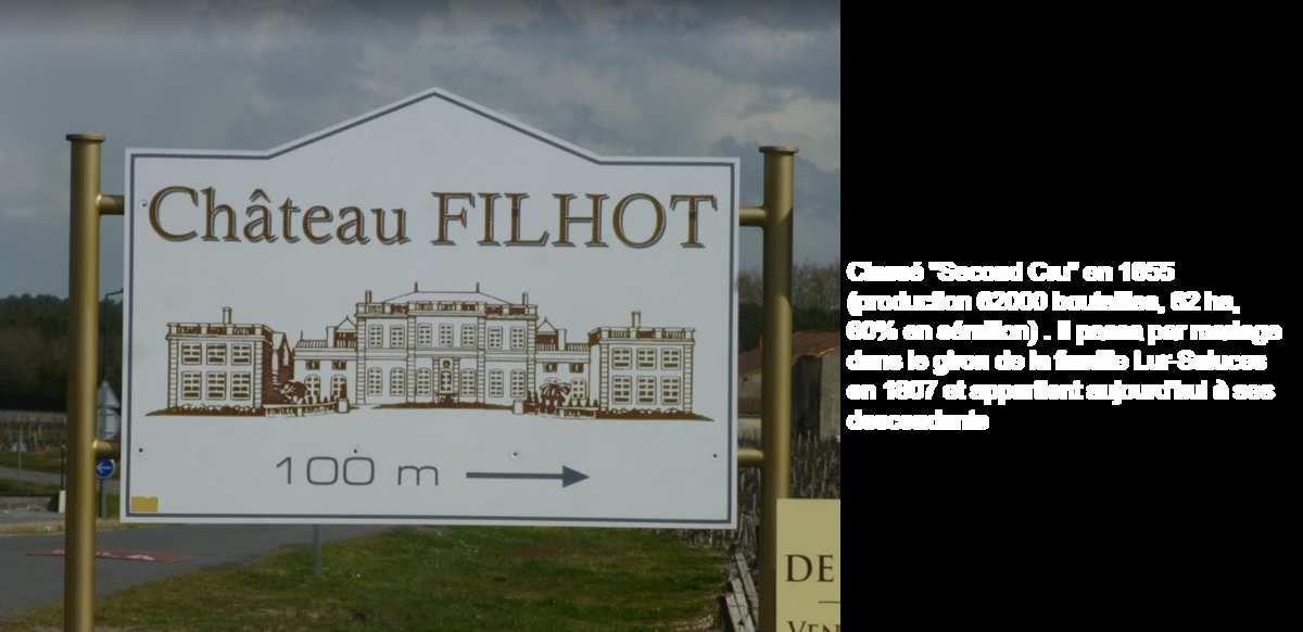 quelques photos du château FILHOT (net)