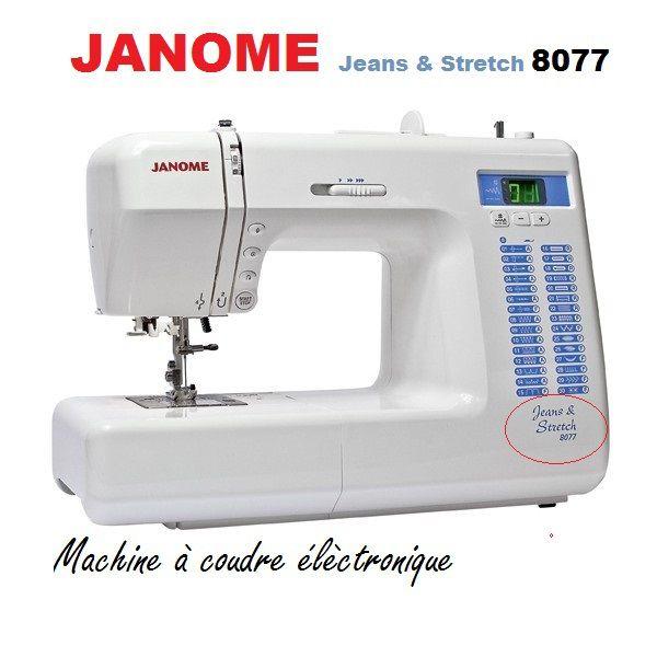 Machine à coudre élèctronique de chez Janome , env 569£.