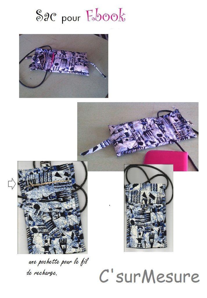 protèger et transporter son ebook dans une sacoche sur-mesure.