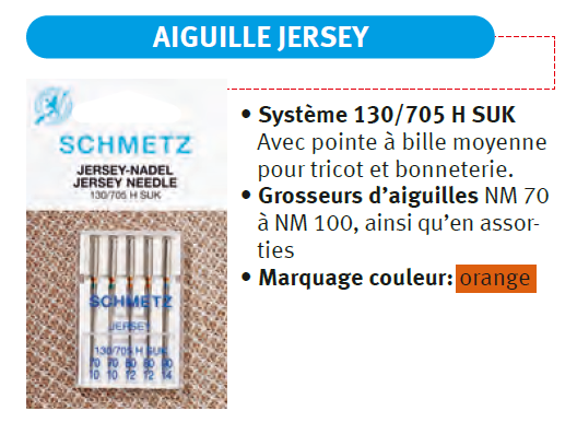 Aiguille jersey