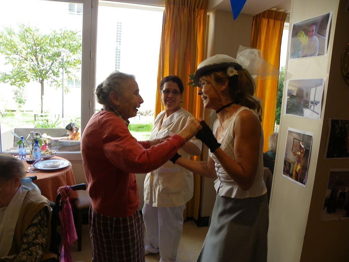 Ehpad, RPA, ...avec nos grands Ainés