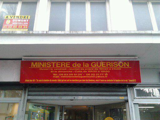 Ouverture du Ministère de la guérison à Aulnay-sous-Bois !