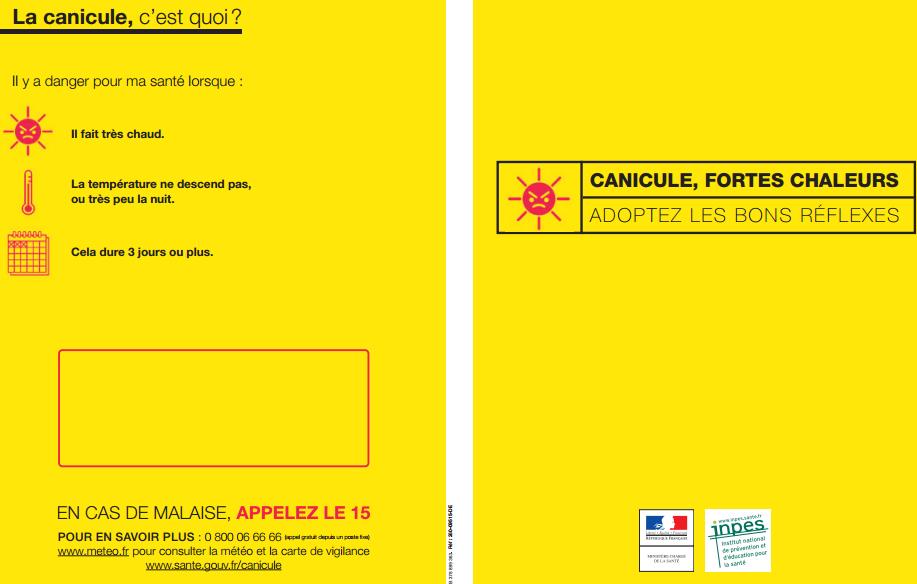 Canicule en 2015 à Aulnay-sous-Bois