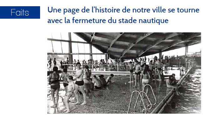 Le maire Bruno Beschizza annonce la construction d'une nouvelle piscine à Aulnay-sous-Bois