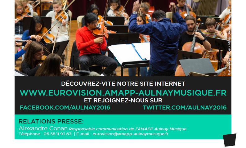 Aulnay-sous-Bois dans la Nouvelle Edition de Canal + pour le concours Eurovision 2016