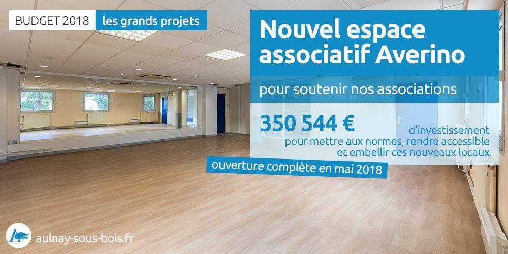 La salle Averino à Aulnay-sous-Bois : un nouvel espace pour les associations
