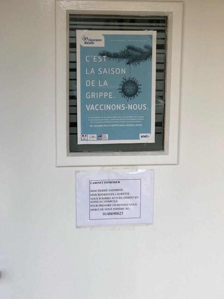 Ouverture d'un cabinet d'infirmières 10 Bis rue Maximilien Robespierre à Aulnay-sous-Bois