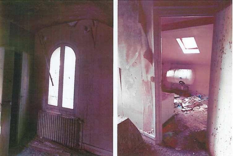 Destruction du pavillon Chopin amianté et délabré pour créer un nouveau parc à Aulnay-sous-Bois
