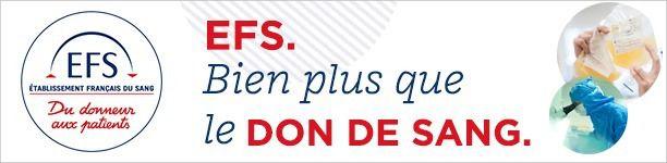 EFS organise une collecte de sang ce 2 décembre 2019 Espace Averino à Aulnay-sous-Bois