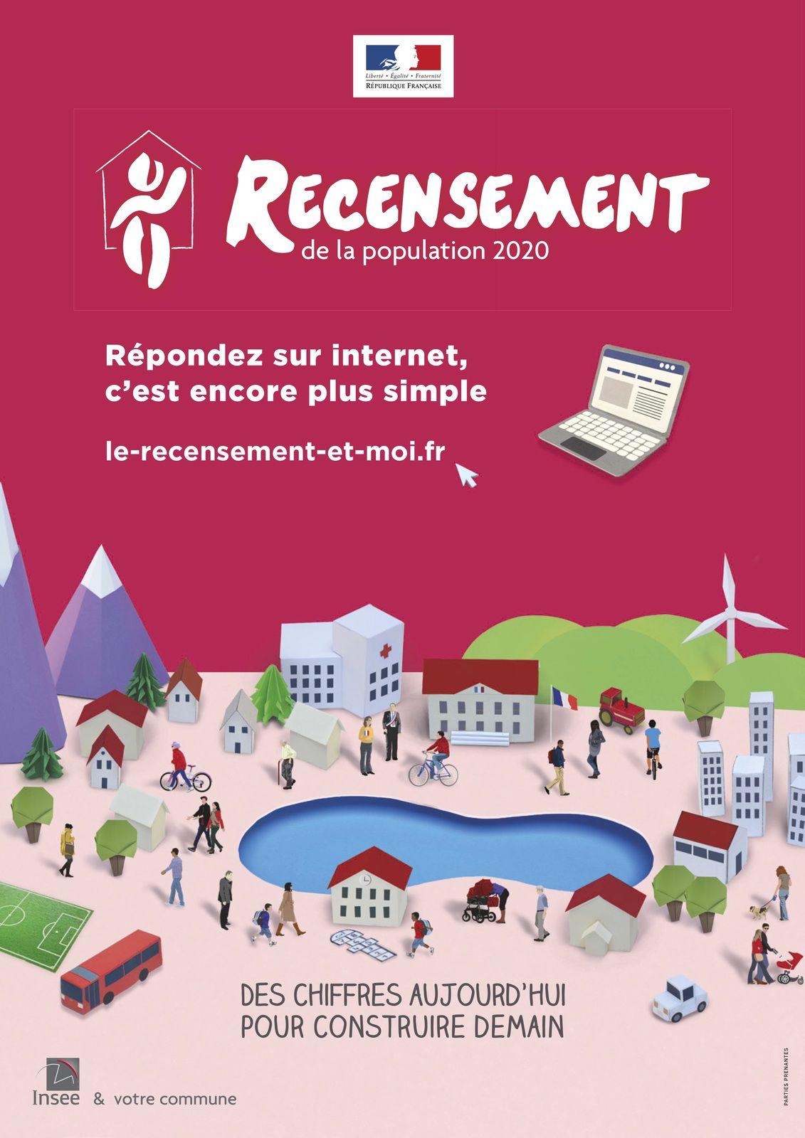 Le recensement 2020 à Aulnay-sous-Bois se déroulera jusqu'au 22 février