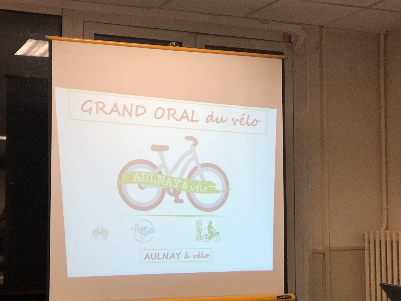 Un bon débat sur la place du vélo à Aulnay-sous-Bois