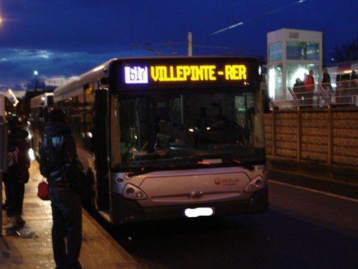 Malgré la psychose du coronavirus les bus ont très bien circulé aujourd'hui à Aulnay-sous-Bois !