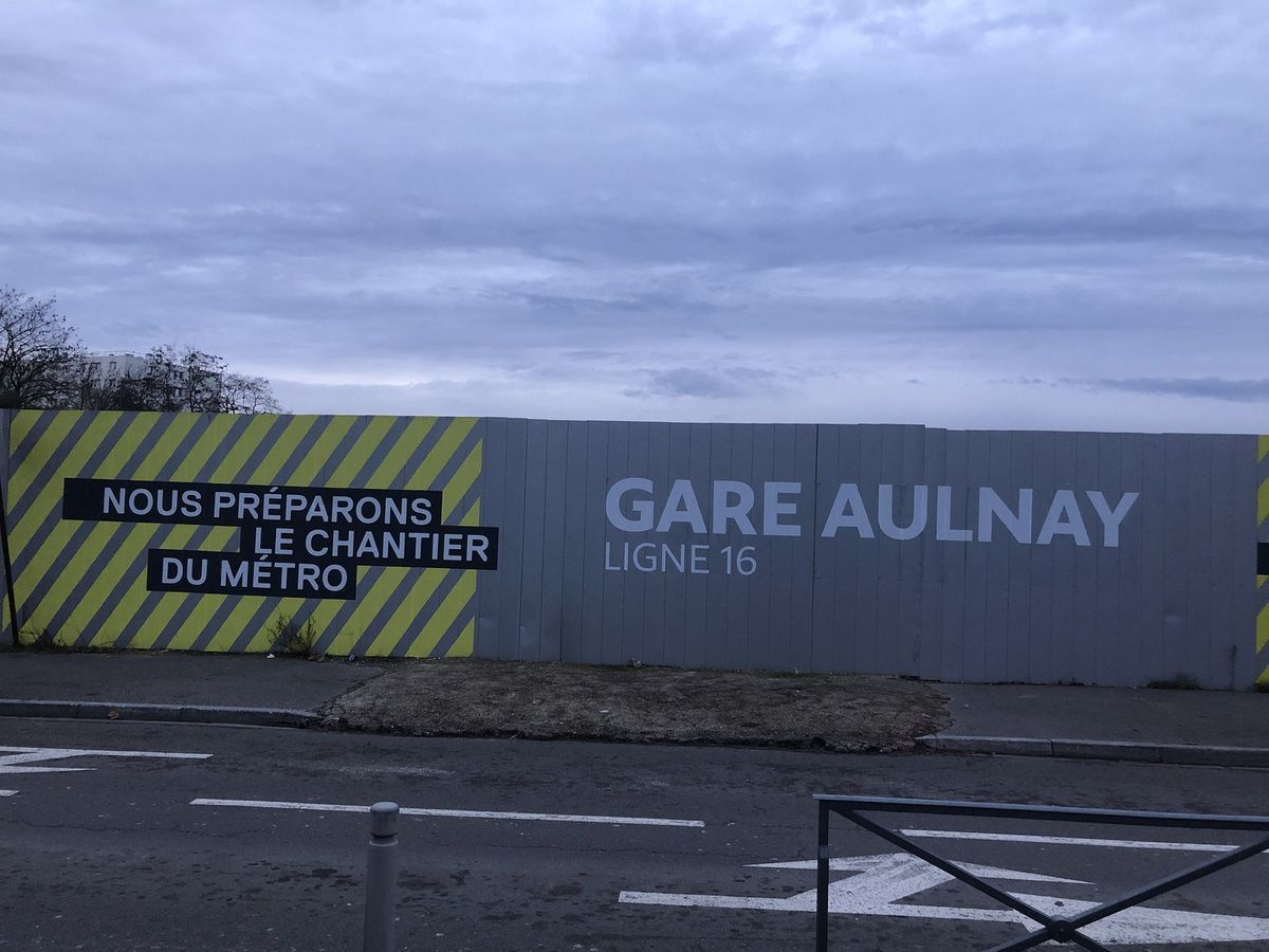 Aulnay-sous-Bois centre stratégique des lignes 16 et 17 du métro du Grand Paris
