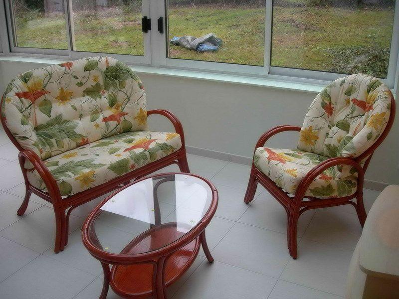 Photos de nos collections de salon en rotin pour l'intérieur et la véranda