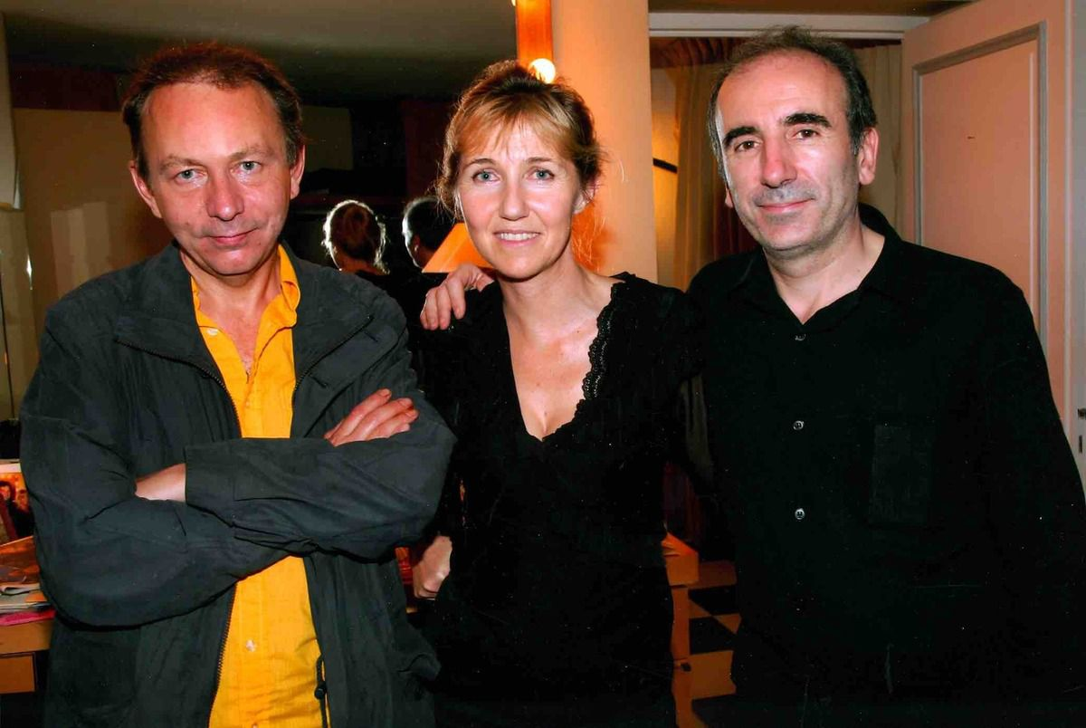 Michel Houellebecq Sylvie Bourgeois Philippe Harel