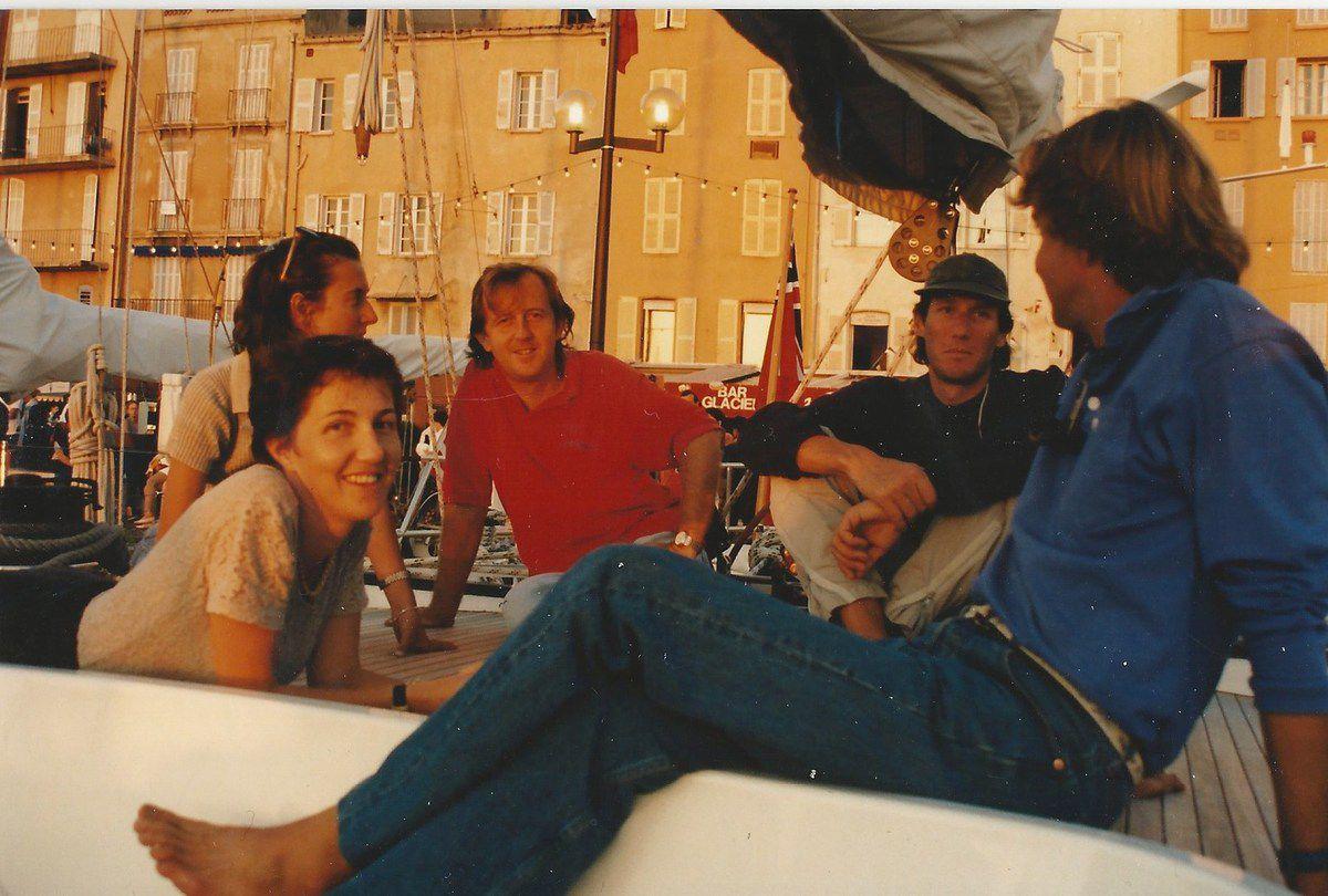 Sylvie Bourgeois Harel - Agathe Miserez - Hervé Bourgeois - Max Bourgeois - Virginio Bruni Tedeschi - La Nioulargue - Saint-Tropez