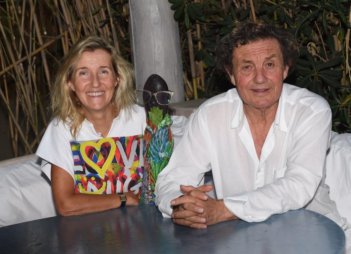 Sylvie Bourgeois Harel - Marcelline - Patrice de Colmont - Le Club 55 - 2018 - T-shirt Richard Popitti
