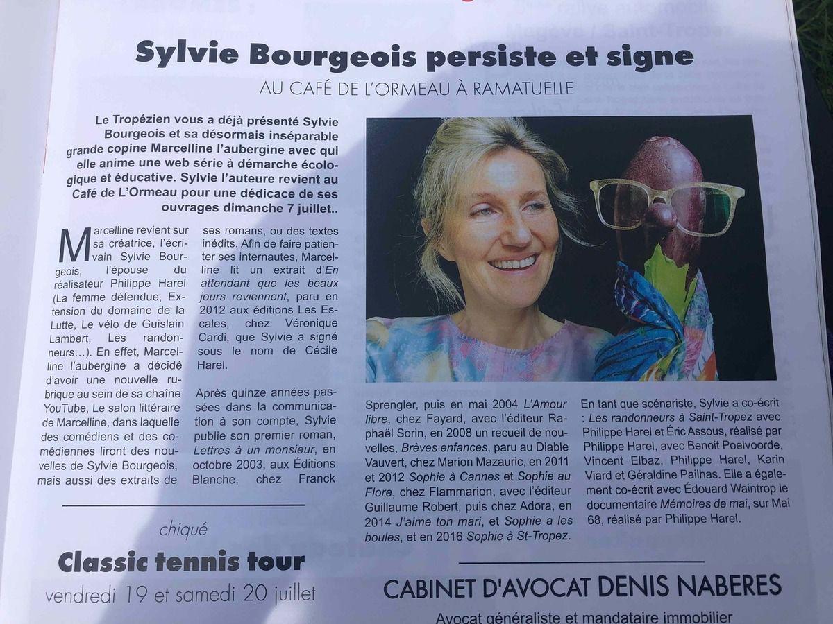 Sylvie Bourgeois Harel - Marcelline - Le Tropézien