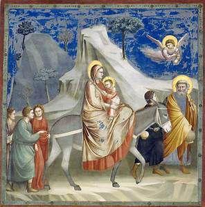 Jésus était un migrant,né d'une gestation pour autrui, quia du fuir avec toute sa famille les massacres ordonnés par Hérode …