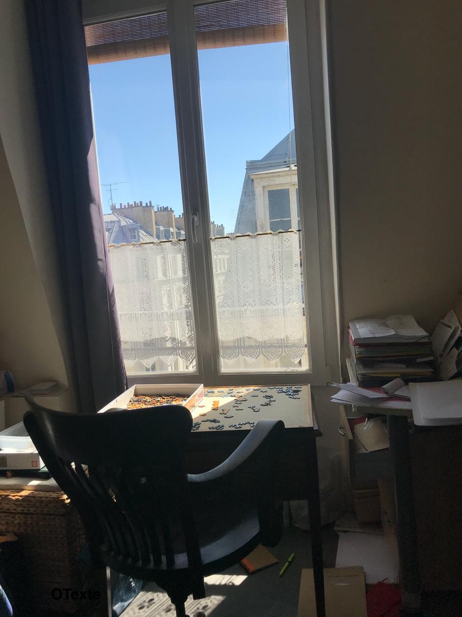 Paris, 17 avril 2020 ; Odile, 74 ans
