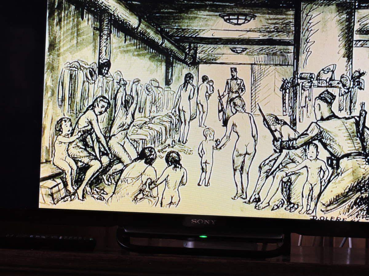 28-10-18- EMOUVANTE EMISSION DE JUDAICA POUR QUE NOUS N'OUBLIONS PAS, GRACE ENTRE AUTRE AU TEMOIGNAGE DE SIMONE WEIL L'HORREUR INDICIBLE DE LA SHOAH
