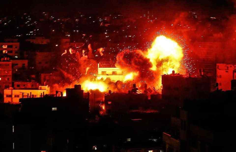 08-12-18-BOMBARDEMENT SIONISTES MEURTRIERS SUR GAZA