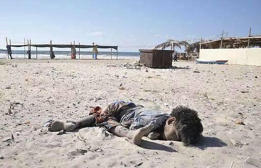 Enfant Palestinien assassiné par la lâche armée sioniste