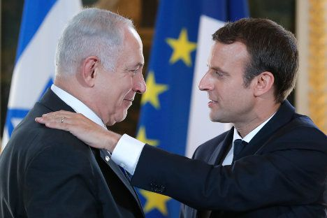 L'Amitié Macron Netanyahou