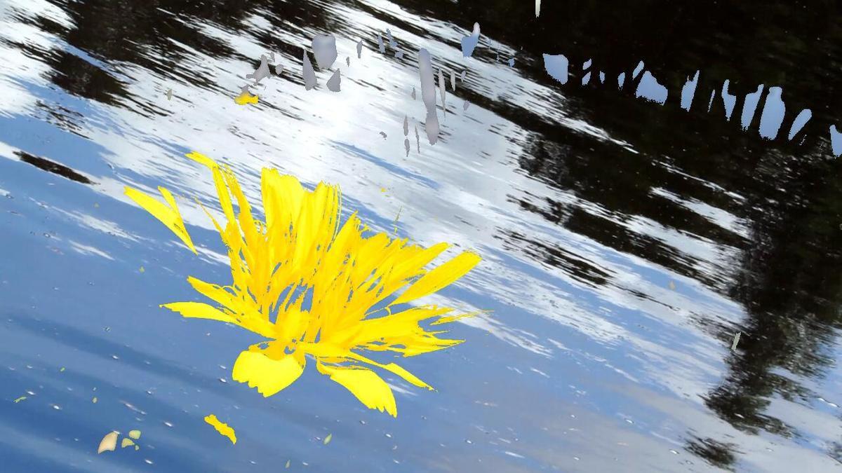 "Photogramme du film ""Fleurs papillons"""