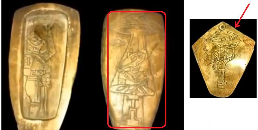 Le gouvernement du Mexique dévoile des pièces mayas prouvant le contact extra-terrestre - Rediffusion - 03/2018.