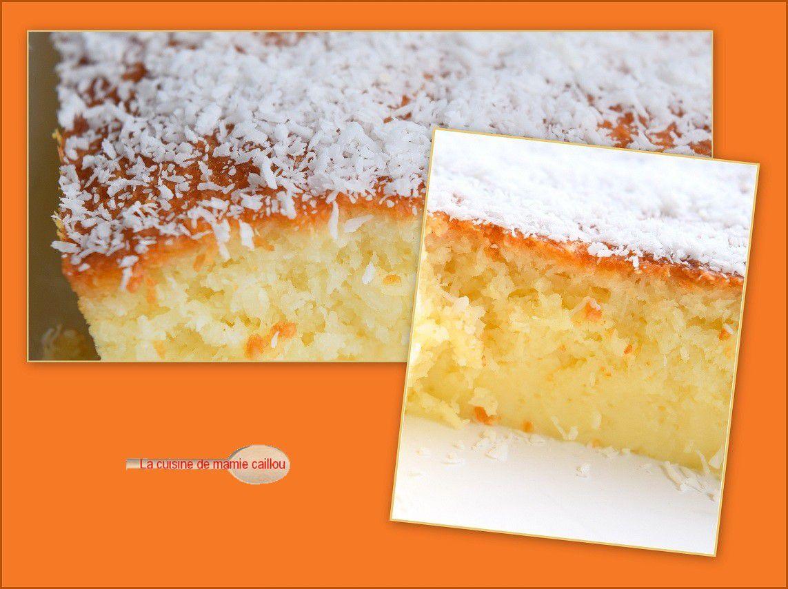 Gâteau coco...que vous n'êtes pas prêt d'oublier !