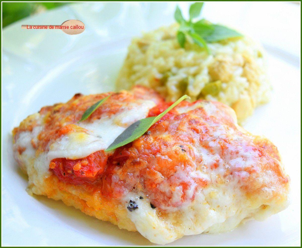 Escalope de poulet panée à l'italienne... un peu à ma façon !