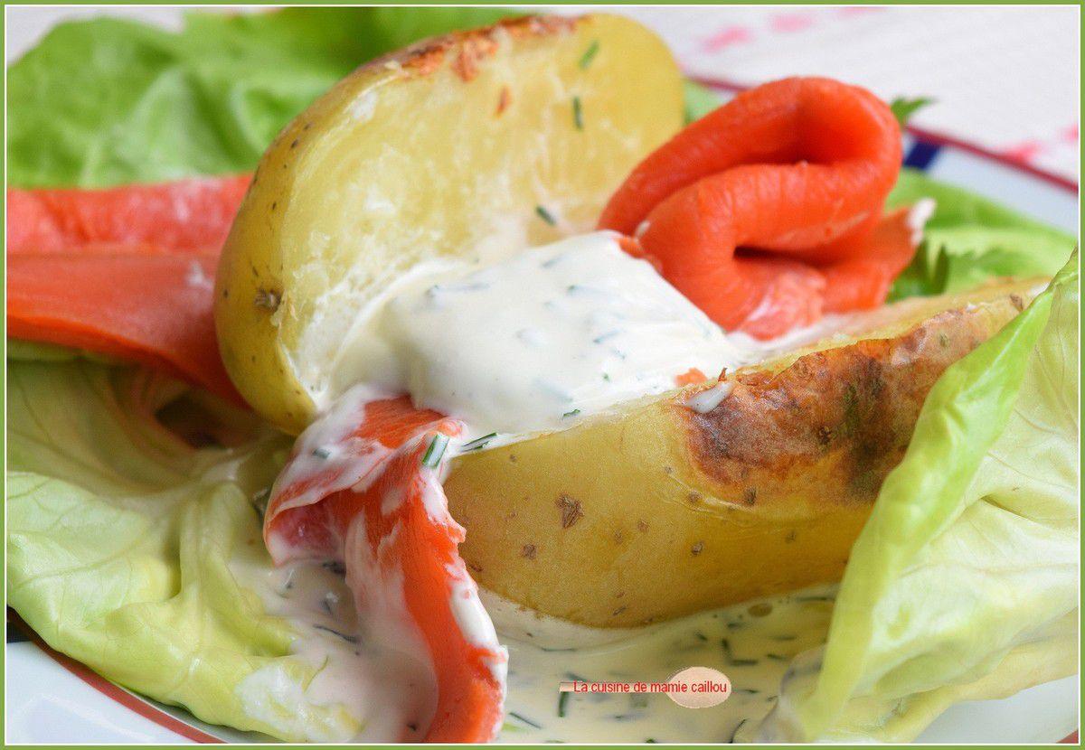 Pommes de terre au four à la nordique