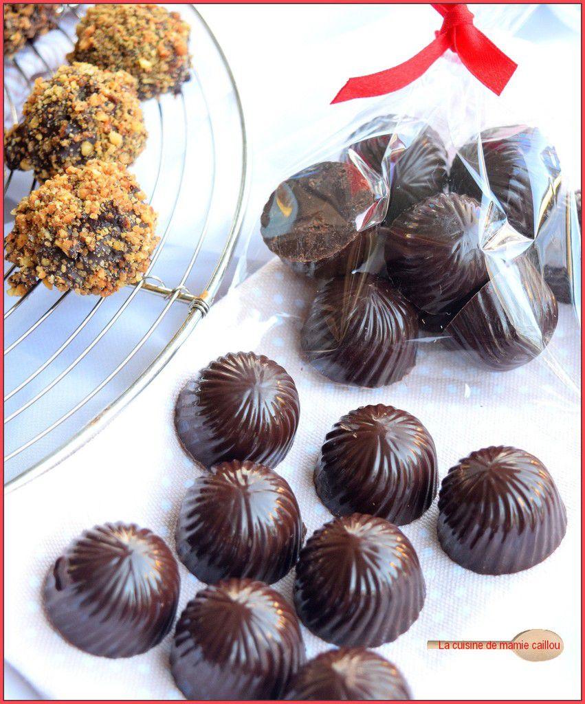 Mes Griottines au chocolat...elles étaient si jolies, trop jolies peut-être car il n'y en a déjà plus !