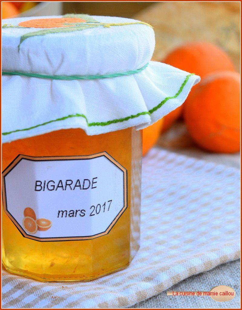 Confiture de Bigarades et Marmelade citron, vanille et Limoncello...ou comment mettre le soleil en bocaux !