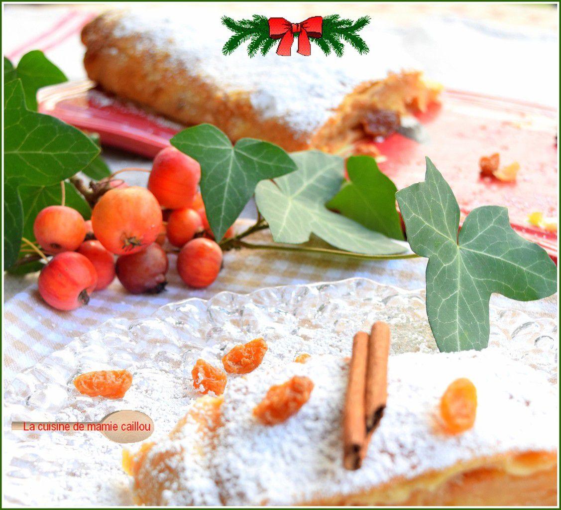 Apfelstrudel...un peu comme à Vienne et parce que c'est bientôt Noël !