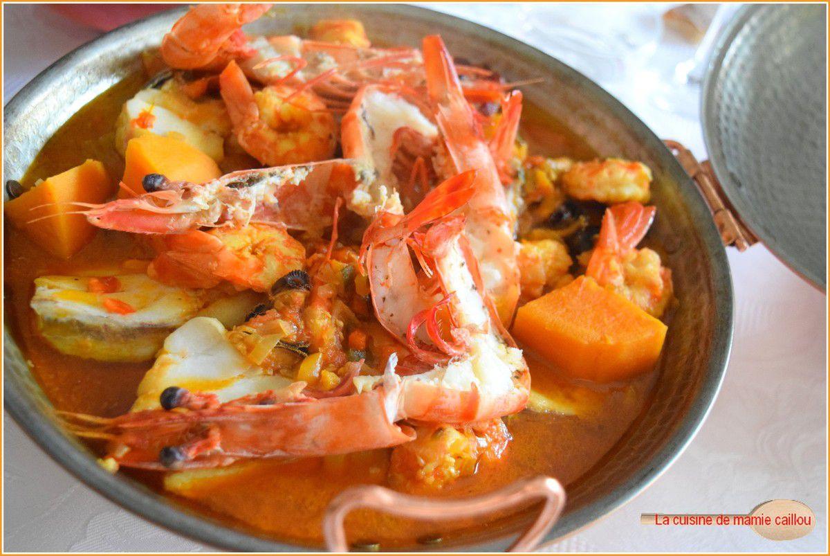 Cataplane de viande et fruits de mer...un plat  Terre et Mer tout droit venu du Portugal