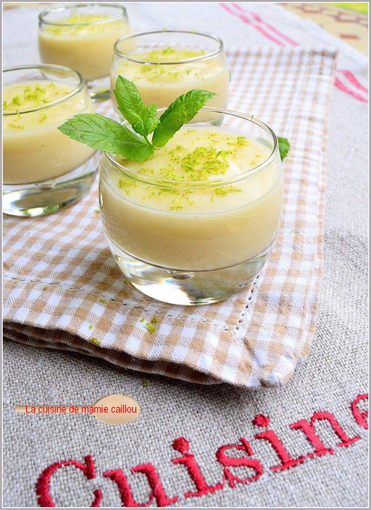 Crème légère au citron