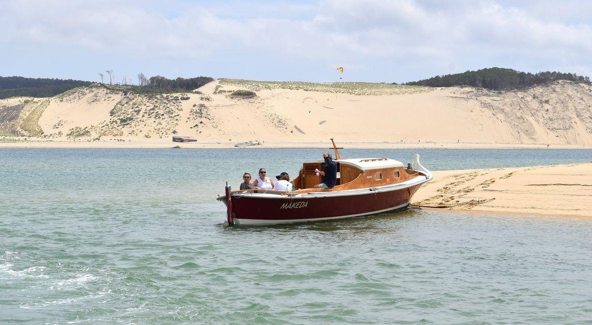 Une Journée bateau sur le Bassin d'Arcachon, direction le Banc d'Arguin...bon vent matelots !