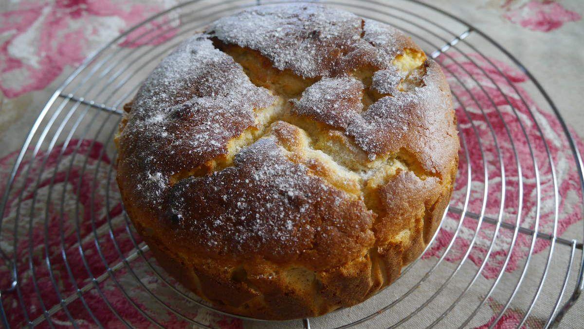 Gâteau moelleux aux groseilles