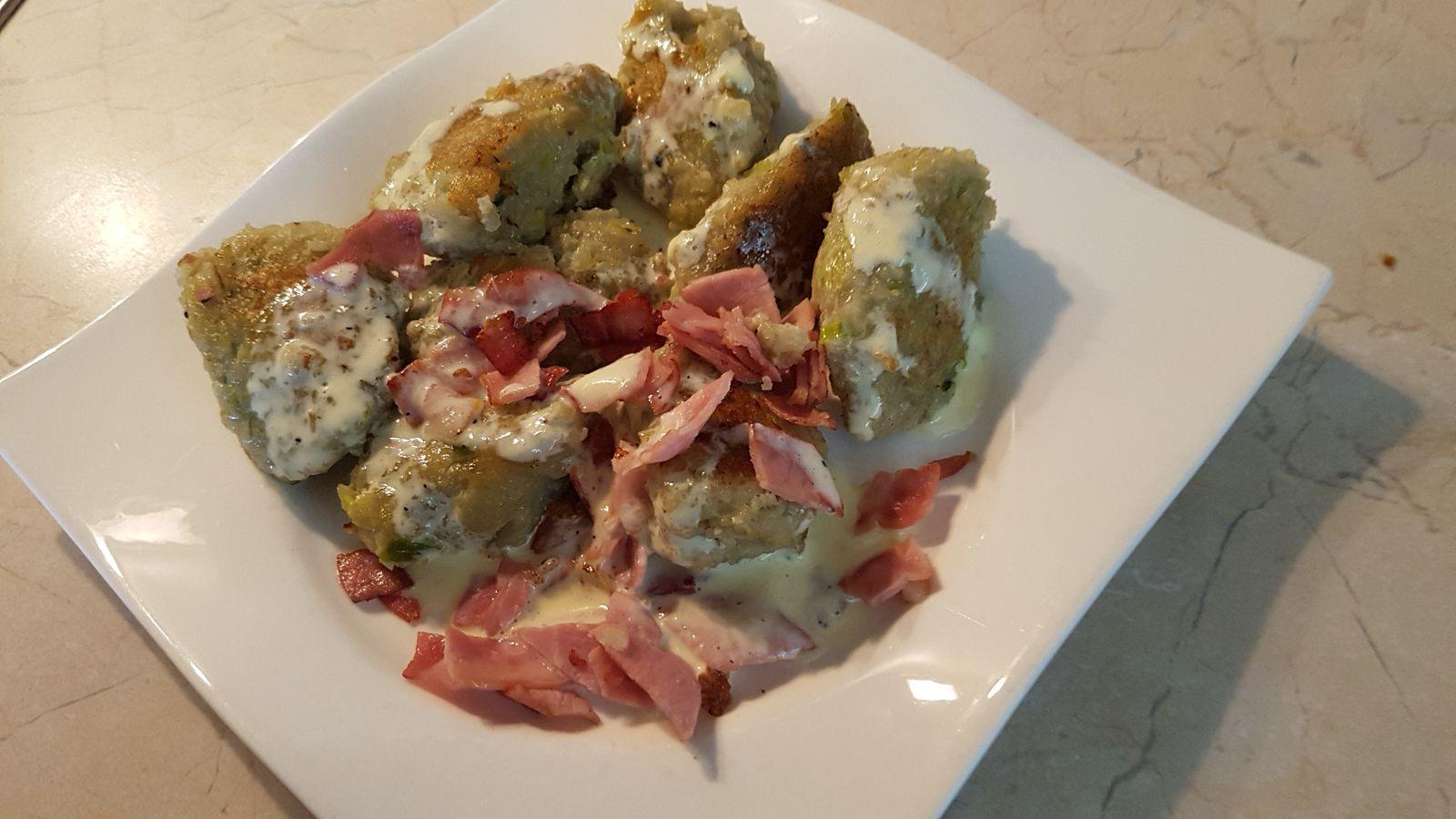 Quenelles de pommes de terre  -  Buewespaetzle