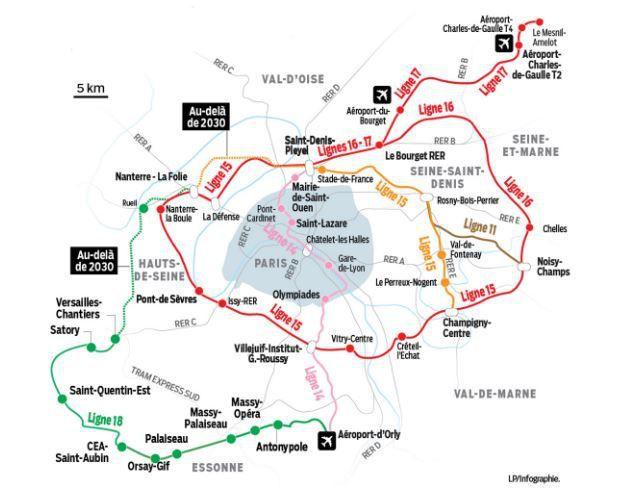 Les travaux du Grand Paris Express, ligne  15 Sud, avancent