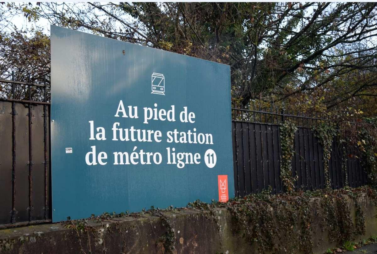 De sérieux doutes pour le prolongement de la ligne 11 de la RATP ?
