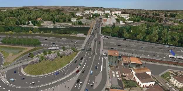 Nouveau pont à Nogent-sur-Marne