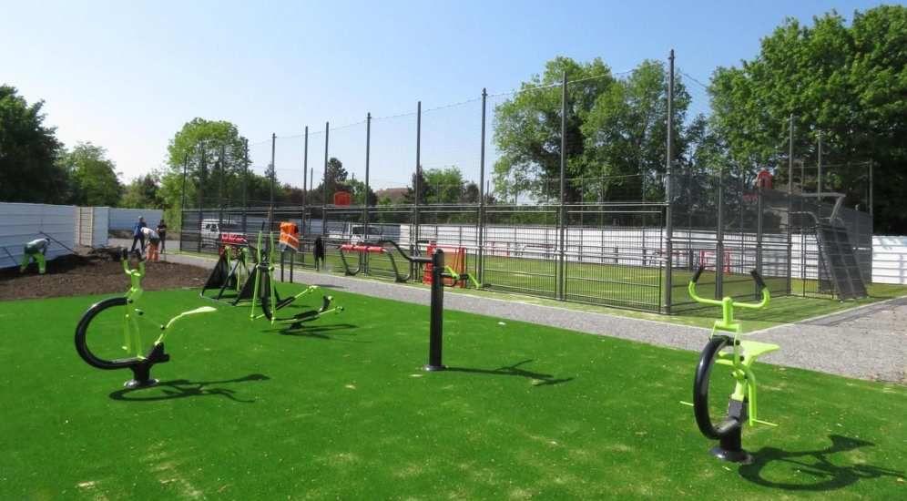 Le city stade des Bas-Heurts est opérationnel